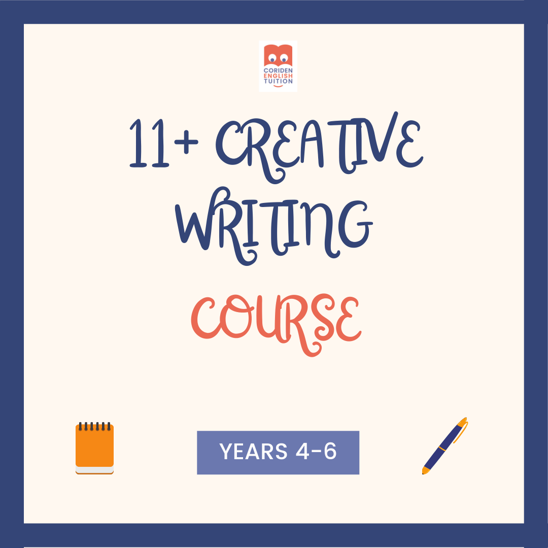 11+ Creative Writing Course for Children in Years 4 and 5