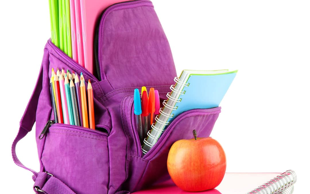 10 ideas to help your child get organised for going back to school