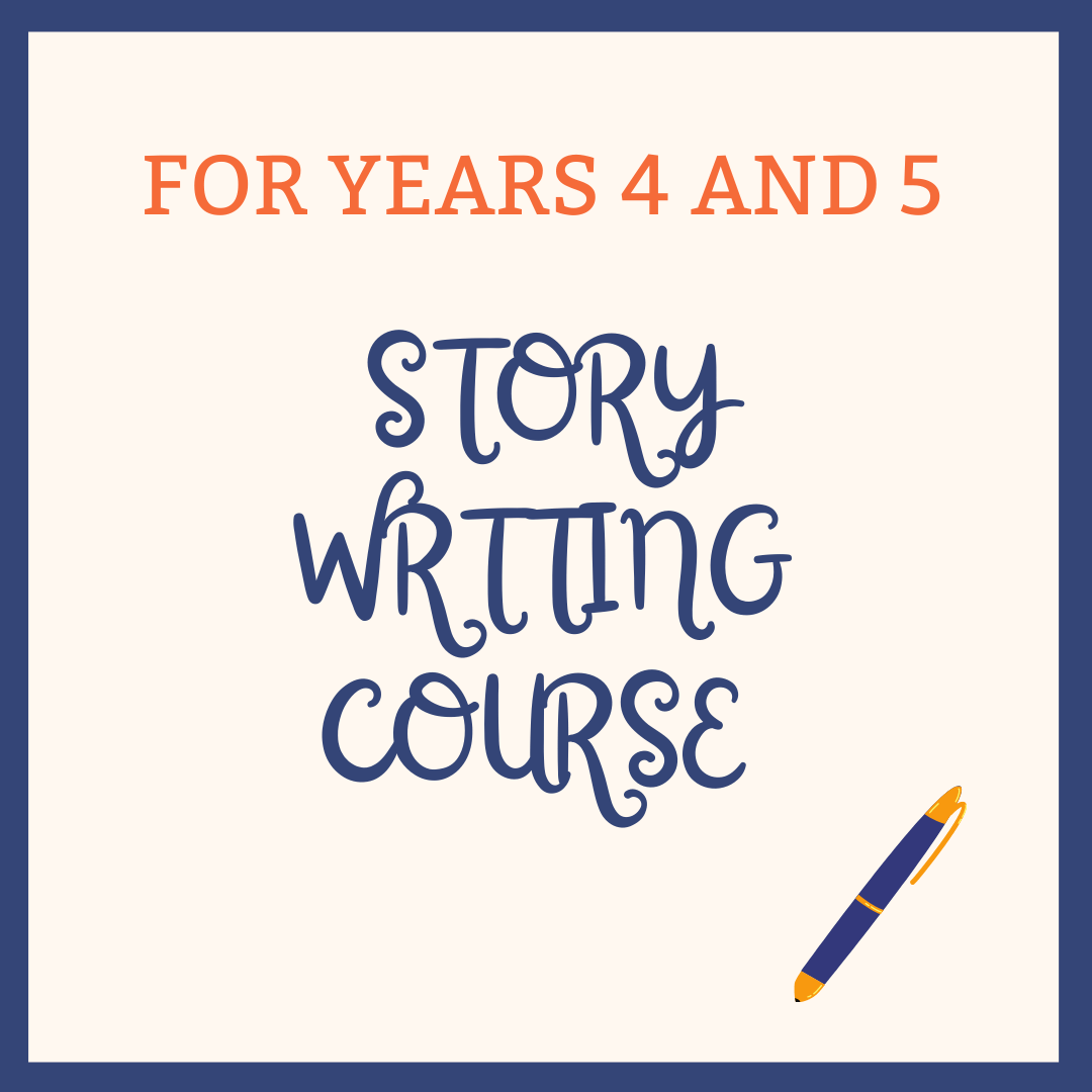 Story Writing Course For Years 4 and 5